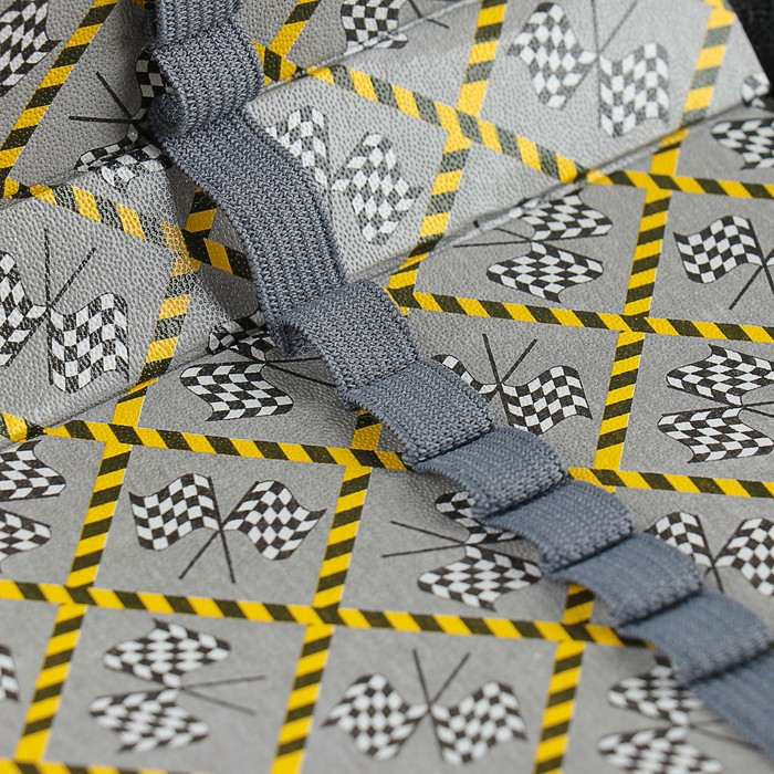 Пенал 1 секция «Богатырь дорог», 115 х 205 мм, эффект металлик, 3D объёмный рисунок - фото 416987013