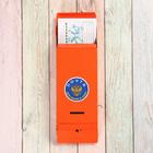 Ящик почтовый «Столбик», без замка (с петлёй), оранжевый