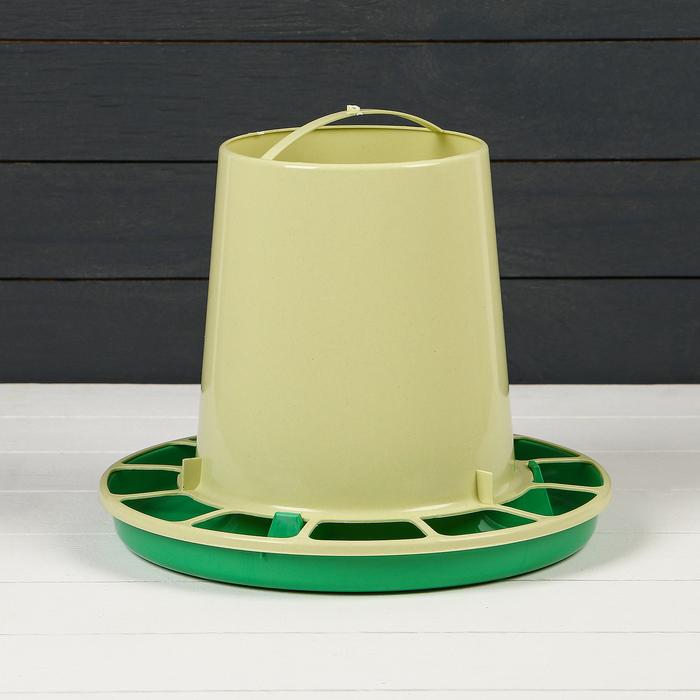 Кормушка для домашней птицы на 5 кг, цвет МИКС