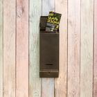 Ящик почтовый «Столбик», без замка (с петлёй), цвет бронзовый