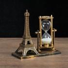 """Clocks """"Eiffel tower"""", 15.5x6.5.x16 cm, mix"""