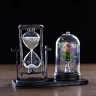 Watch sandy rose, 15х9х14 cm mix