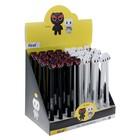 Ручка гелевая-прикол «Кот», стержень чёрный