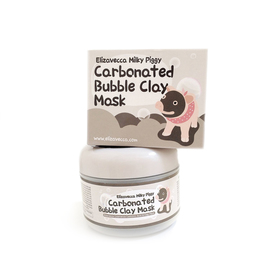 Очищающая кислородная маска Elizavecca Milky Piggy Carbona Ted Bubble Clay Pack , 100 мл.