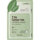 Маска для лица Tony Moly I'm Green Tea Layering Mask 2х ступенчатая, 23 мл