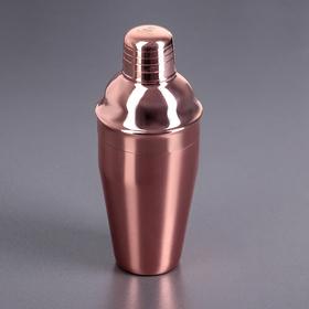 Шейкер 500 мл цвет медный WL-552011 / A