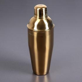 Шейкер 700 мл цвет золотой WL-552008 / A