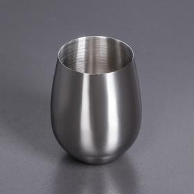 Стакан 550 мл, цвет серебряный WL-552222 / A