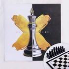 """Chess set """"a step ahead"""", R-R fields 15 × 15 cm"""