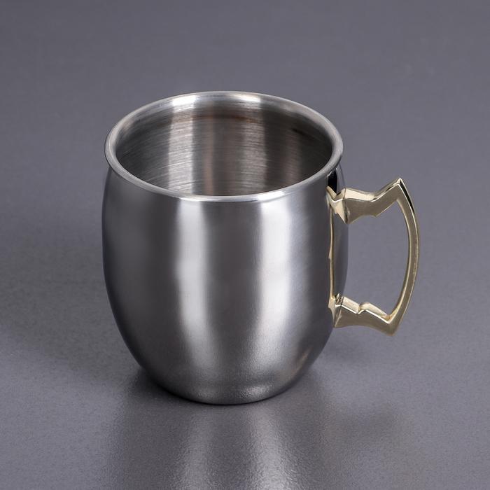 """Кружка 550 мл """"Маг"""", цвет серебряный WL-552201 / A"""