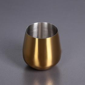 Стакан 600 мл цвет золотой WL-552226 / A 36