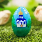 Egg painted Temple 7 cm