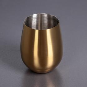Стакан 550 мл, цвет золотой WL-552223 / A 48