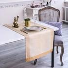 Дорожка на стол «Элиан», Этель: Лён, 50 × 150 ± 3 см, 100 % лён