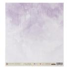 "Набор двухсторонней бумаги для скрапбукинга ""Pretty violet"" 30,5х30,5 см, 6шт"