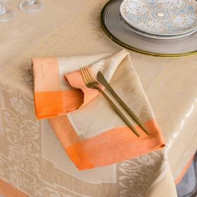 Набор салфеток на стол Этель Лён «Жизель» 45×45 ± 3 см - 4 шт., 100% лён
