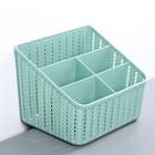 Органайзер IDEA «Вязание», 5 секций, цвет фисташковый - фото 308333338