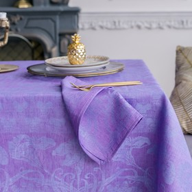 Набор салфеток на стол «Стефани», Этель: Лён, 30 × 30 ± 3 см, 4 шт