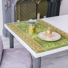 Дорожка на стол «Лилиан», Этель: Лён, 50 × 70 ± 3 см, 100 % лён