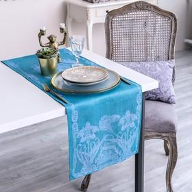 Дорожка на стол Этель Лён «Луиза» 35×145 ± 3 см, 100% лён