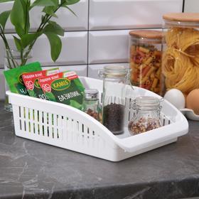 Органайзер для кухни, 29×23×9 см, цвет белый