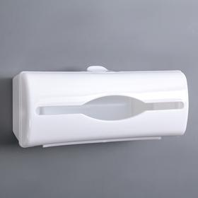 Контейнер для пакетов, цвет белый