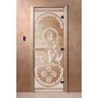 Дверь «Посейдон», размер коробки 190 × 70 см, левая, цвет прозрачный