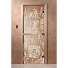 Дверь «Горячий пар», размер коробки 190 × 70 см, левая, цвет прозрачный