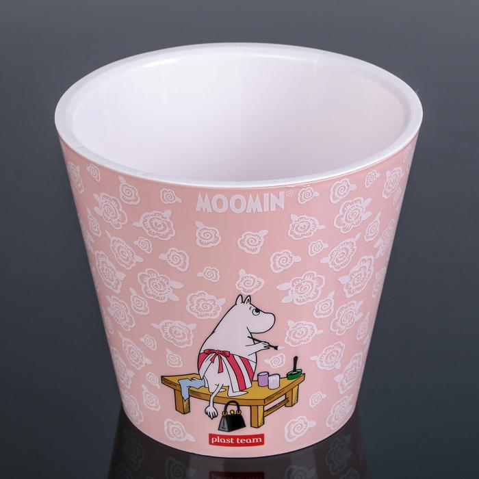 Горшок для цветов 1,6 л, d=16 см Moomin Pudra