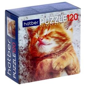 Пазл 120 элементов «Котиков много не бывает»