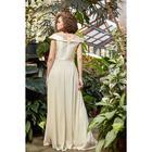 """Платье женское MINAKU """"Felice"""", длинное, размер 46, цвет бежевый - фото 933156"""
