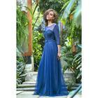Платье женское MINAKU, цвет тёмно-синий, размер 44 - фото 933187