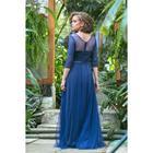 Платье женское MINAKU, цвет тёмно-синий, размер 44 - фото 933188