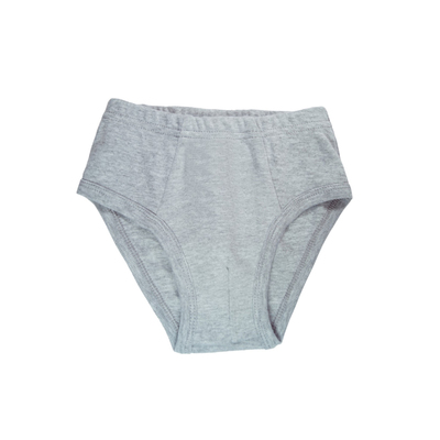 Трусы для мальчика, цвет светло-серый меланж, рост 110-116 см
