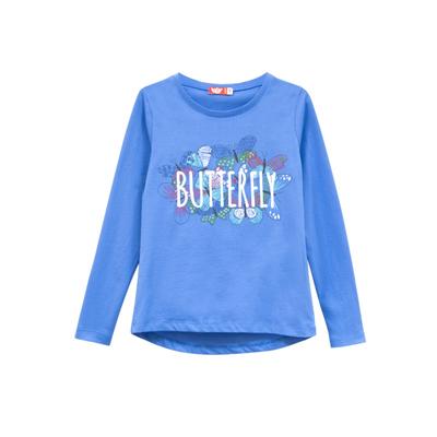 Джемпер для девочки, цвет голубой, рост 140 см