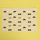 Пакет-слайдер матовый с принтом Men's things, 36 × 24 см - фото 7038