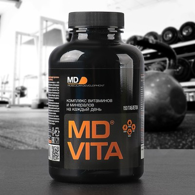 The complex of vitamins and minerals, Vita MD 150 tablets