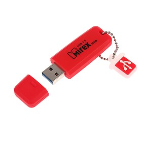 Флешка Mirex CHROMATIC RED, 16 Гб, USB3.0, чт до 150 Мб/с, зап до 40 Мб/с, красная