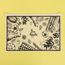 Пакет для хранения еды Bon Appetit, 36 × 24 см