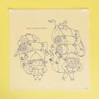 Пакет-слайдер матовый с принтом «Вместе весело шагать», 40 × 40 см - фото 7112