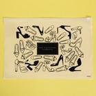 Пакет-слайдер матовый с принтом «Моя маленькая слабость», 36 × 24 см - фото 7114