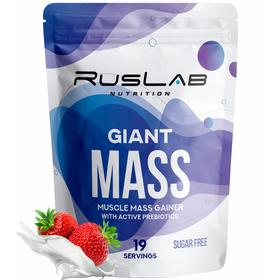Giant Mass 30% (950г), клубника