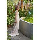 Платье женское MINAKU, цвет бежевый, размер 46 - фото 933484