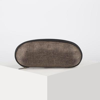 """Glasses case """"jeans"""", the Department with a zipper, MIX color"""