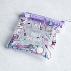 Purse - shaker Only for girls, color mauve