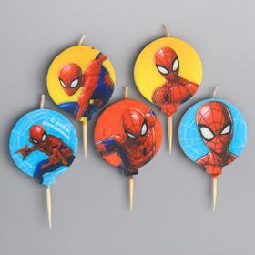 Свеча в торт набор, Человек-паук
