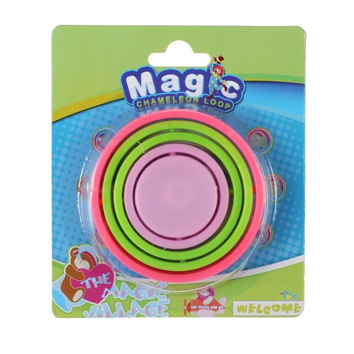 Головоломка «Колечки», световая, цвета МИКС - фото 1026889
