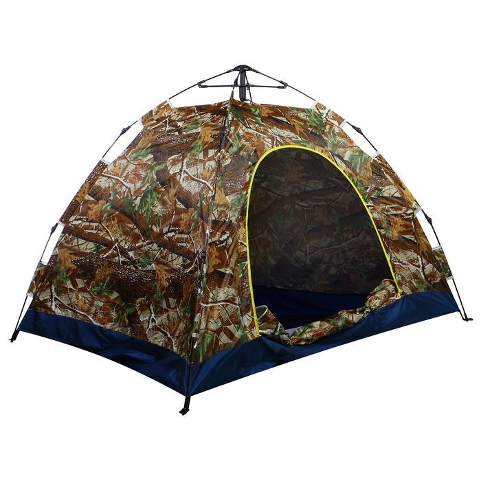 Палатка-автомат 200 х 150 х 110 см, цвет лес - фото 36221