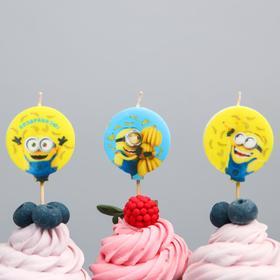 Свеча в торт набор, Гадкий Я 4127141