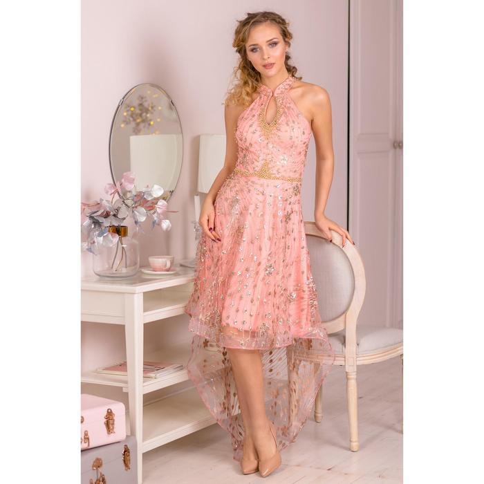 """Платье женское MINAKU """"Megane"""", размер 42, цвет розовый"""